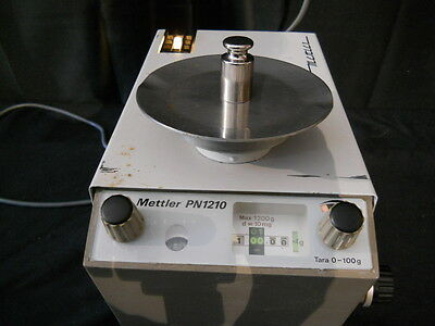 Mettler Balance Scale Model PN1210 1200g Max