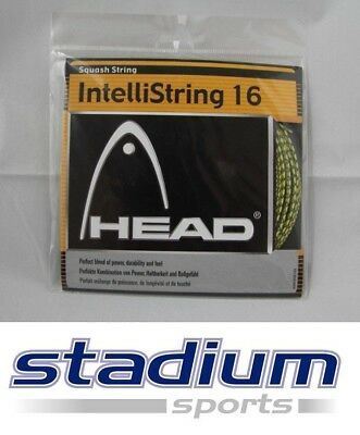 3 Sets Head Squash String - IntelliString 16 - Perfect Power & Durability & Feel