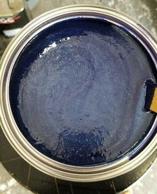 Dark Blue Met.acrylic enamel single stage restoration auto body shop paint kit