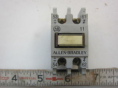 AB Allen Bradley 195-FA11 Auxiliary Relay Contact, Used