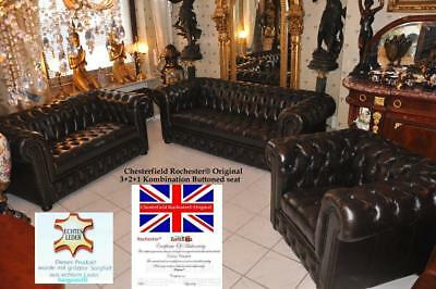 Chesterfield-geknöpfter Sitz-Claridge Rochester® Original E100