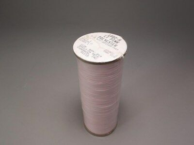 (2) 500yd Rolls Gudebrod BMS13-54 Lt Pink Polyester Lacing Tape NEW