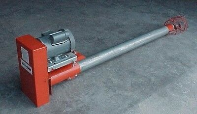 4 Inch Utility Bulk Feed Tank Auger 12' long JetFlow