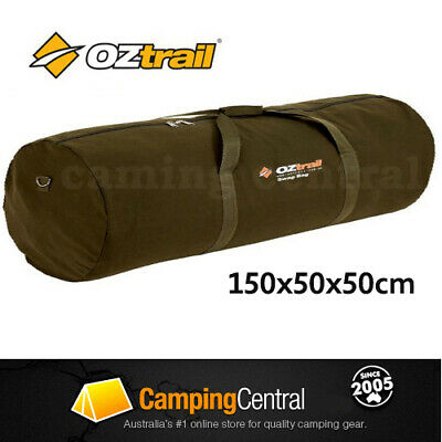 OZTRAIL MITCHELL DOUBLE CANVAS SWAG CARRY BAG (150 x 50 x 50cm)