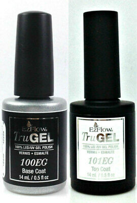 EZFlow TruGel Nail Polish- Choose Any Base/Top/ Bond 0.5oz/15ml
