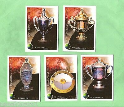 2003 International Trophies Rugby Union Card Set Of 10