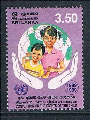 Sri Lanka 1999 Rights of the Child SG 1453 MNH