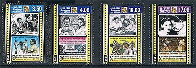 Sri Lanka 1999 50 years of Cinema SG 1443/6 MNH