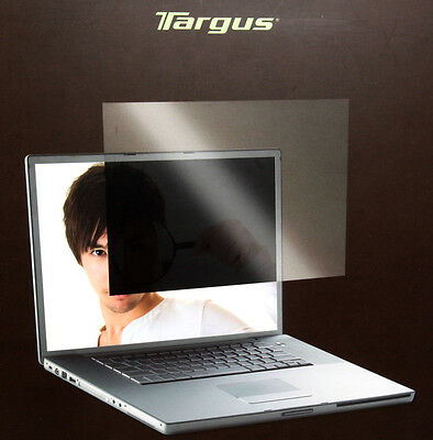 """Targus 17"""" inch Wide Screen Laptop Privacy Screen Filter 368mmX230mm ASF17WUSZ"""