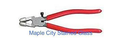 "RUNNING PLIERS FOR STAINED GLASS WORK  NEW  8"" Metal"