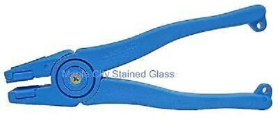 Stained Glass Supplies, Lightweight Plastic Running Pliers - New Black
