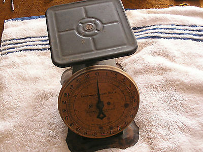 Antique Columbia Family Scale Landers Ferry Clark New Britain Connecticut