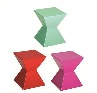 Edge Funky Colourful High Gloss Lacquered Side End Tables Gl Optional