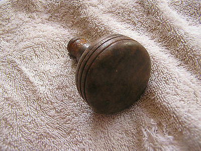 Antique Metal Door Knob with Stripes on the side
