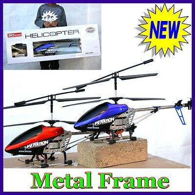 NEW BIG RC GYRO Helicopter 3.5CH Remote Control 68cm Huge Large Coaxial 3.5 Xmas