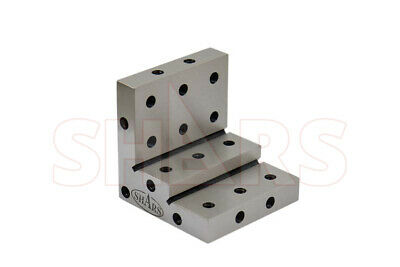 "Shars Angle Plate 3x3 x3x1x1/2"" Precision Steel Ground 0.0002"" NEW"