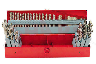 115 Pcs Hss 1/16-1/2 A-Z 1-60# Jobber Drill set With Metal Index Box $131.45 Off