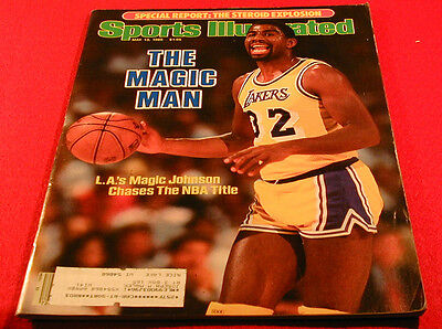 1985 LOS ANGELES LAKERS MAGIC JOHNSON CHASES THE NBA TITLE Sports Illustrated