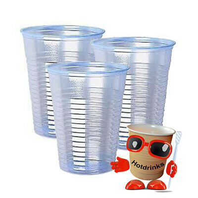 Water Cooler Cups x 2000, Strong 7oz PP Ice Blue Cups NOT Cheap Flimsy PS Cups