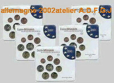 Promotion Allemagne Euro Annee 2002 Qualite B.u  Blister Neuf Lire L'annonce
