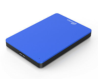 Sonnics 1TB 2.5 Inch USB External pocket Hard drive for Smart TV in Blue New
