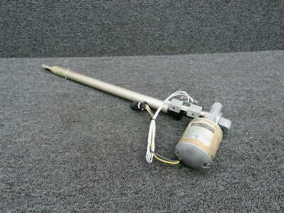 Mooney M20S Flap Actuator Assembly and Motor P/N 750110-503 - 28 Volt