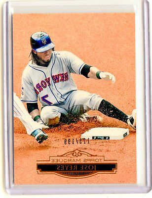 """2011 TOPPS MARQUEE #79 JOSE REYES #123/199  """"COPPER"""" - NEW YORK METS"""