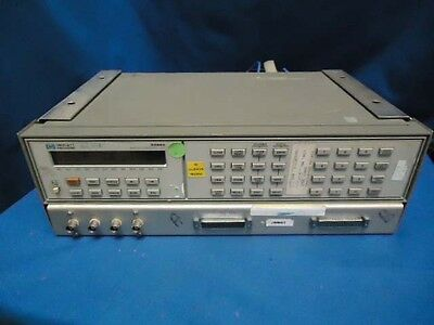 HP 3488A  SWITCH / CONTROL UNIT  w/ (1) 44470A & (4) UNKNOWN PLUG-INS