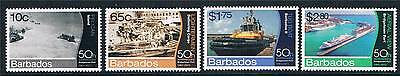 Barbados 2012 Bridgetown Port 4v set MNH