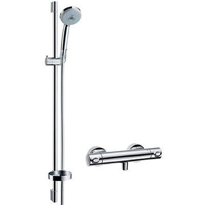 Hansgrohe Hans Grohe Croma 100 Multi Combi 90 Dusch Thermostat Set 27085000