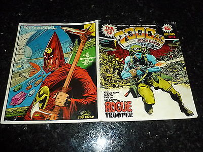 The BEST Of 2000 AD MONTHLY Comic - PROG No 2 - Date 11/1985 - UK  Paper Comic