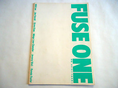 FUSE ONE Japan Tour 1981 CONCERT PROGRAM BOOK w/Ticket & Flyer Will Lee