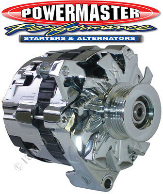 POWERMASTER 574611 GM CS130 Alternator 140 Amp w/ BAT Post 1