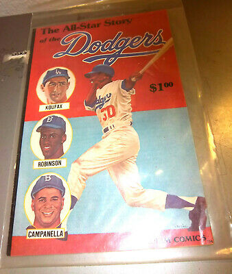 Stadium Comic 1979 All Star Story Of The LA Dodgers, cool older collectible