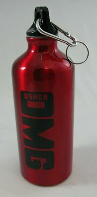 Usher OMG 2010 World Tour Official Red Mini Thermos with key ring NWOT