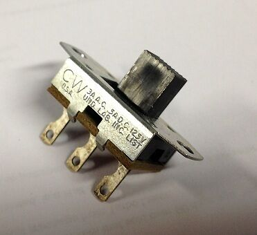 HH Smith Slide Switch p/n 516 NOS 3A AC 5 A DC 125V UL SPDT NOS New