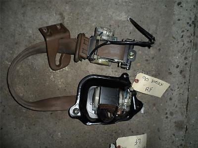 NISSAN 300ZX SEAT BELT SEATBELT BROWN RIGHT OR LEFT FRONT 90-91-92-93-94-95-96