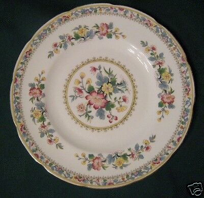 FOLEY Bone China  MING ROSE Salad Dessert  Plate  Gold Rims England