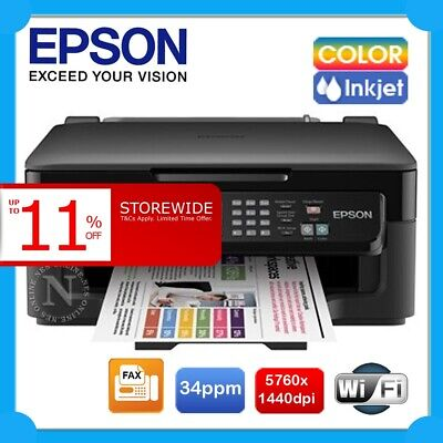Epson XP300 3in1 Color Wireless Inkjet Printer+AirPrint FREE UPGRADE to WF-2510