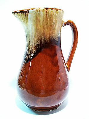 Vintage ROBINSON RANSBOTTOM POTTERY CO. Pitcher - Roseville, Ohio - Circa 1960's