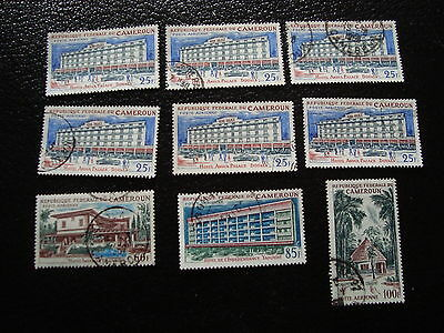 CAMEROUN 9 timbres aerien obl - stamp cameroon