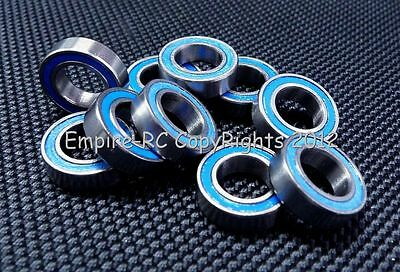 (5 PCS) MR148-2RS (8x14x4 mm) Rubber Sealed PRECISION Ball Bearing (BLUE) 8*14*4