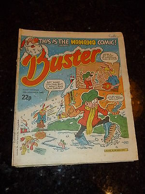BUSTER Comic - Date 28/12/1985 - UK Paper comic