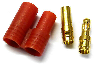 8410 RC HXT 3.5mm HXT Gold Connector w Protector Male / Female