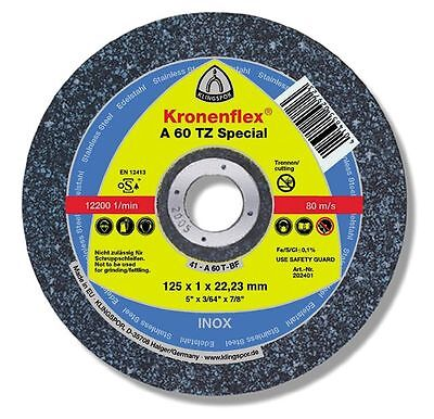 125mm x 50pc THIN CUTTING DISC WHEEL ANGLE GRINDER CUT OFF METAL STEEL STAINLESS
