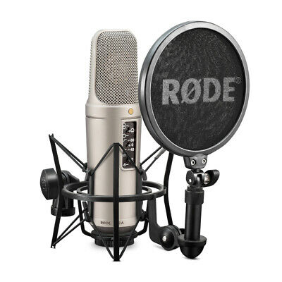 Rode NT2-A Vocal Recording Pack w/ Suspension Mount, Pop Filter & Cable
