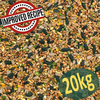 20kg Premium Wild Bird Food (All Season) - Winter - Feed - Mix - Mixture - Seed
