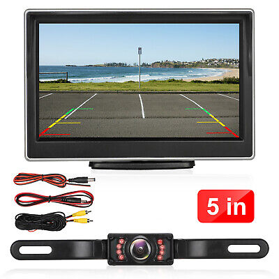 4'' Car DVR Dual Lens HD 1080P Dash Cam Video Recorder Camera Touch Screen New