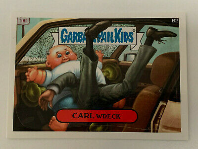 2007 USA Garbage Pail Kids ALL NEW SERIES 7 Bonus Card : B2 Carl Wreck - ANS