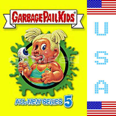 2006 USA Garbage Pail Kids ALL NEW SERIES 5 COMPLETE Set in Box - ANS